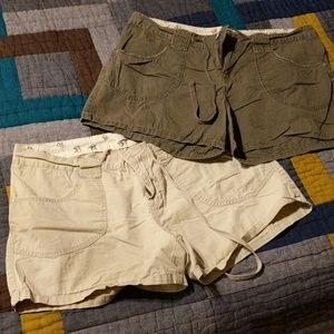 Two pair of light weight shorts